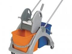 Rodzaje i budowa wózków do sprzątania