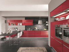 Czerwona kuchnia – jak zaprojektować efektowne wnętrze?
