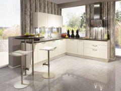 Kształt zabudowy mebli kuchennych na wymiar