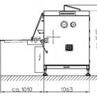 Pompy powietrzne, pneumatyczne w maszynach piekarniczych