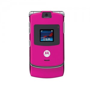 Telefon z klapką marki Motorola